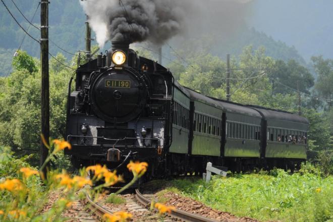 大井川鉄道のC11形190号機