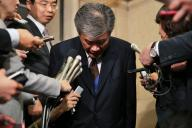 セクハラ問題で辞任した財務省の福田淳一・前事務次官=藤原伸雄撮影