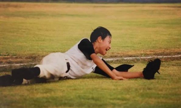 野球に打ち込んでいた小学6年生のころ