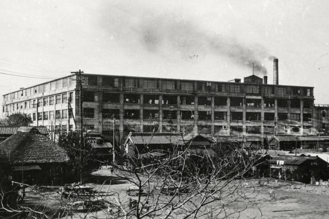 星製薬工場=1929年11月ごろ撮影