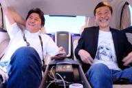 ヨッピー(左)とスタートトゥデイの前澤友作代表取締役社長
