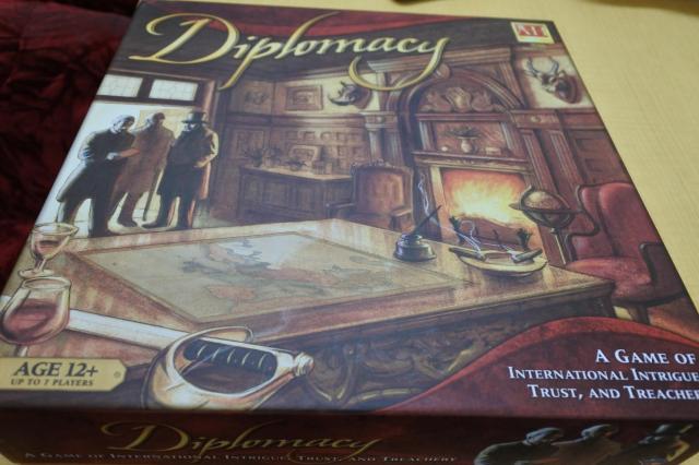 ちまたではやっている外交ゲーム「Diplomacy」