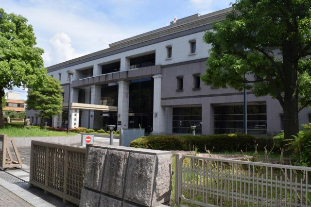 替え玉受験事件について審理が行われた京都地裁=京都市中京区