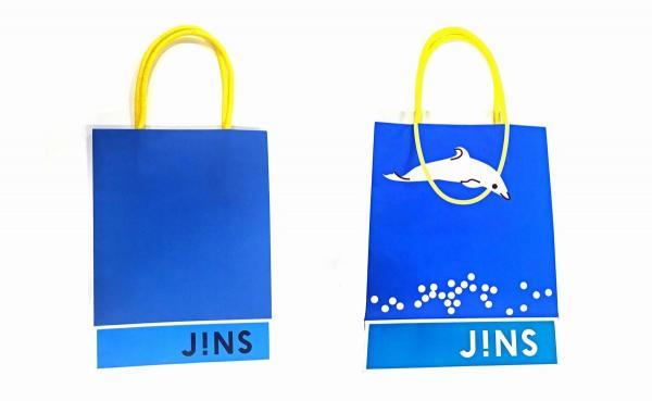 JINSのショッパー(買い物袋)夏バージョン