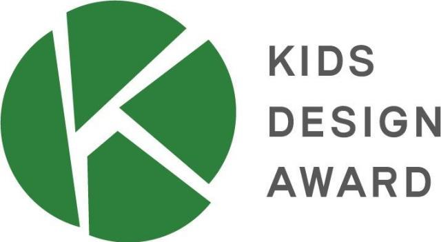 キッズデザインマーク。キッズデザイン賞を受賞した商品やサービスの目印になっている=NPO法人キッズデザイン協議会提供