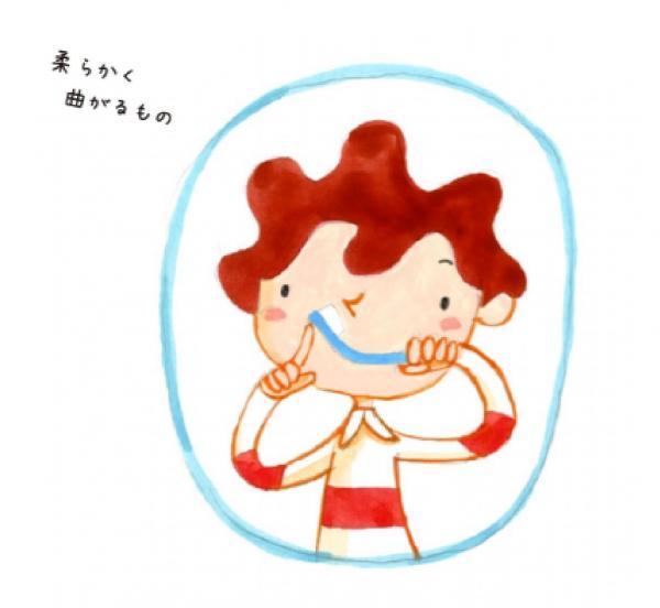 一定の力で柄の一部がぐにゃりと曲がる歯ブラシを使う=NPO法人Safe Kids Japan「危険の科学 歯ブラシによる事故」から