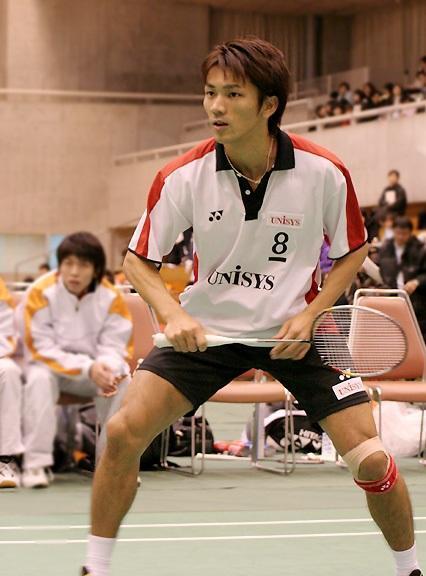 '00 全日本社会人大会 ではシングルスで3位に