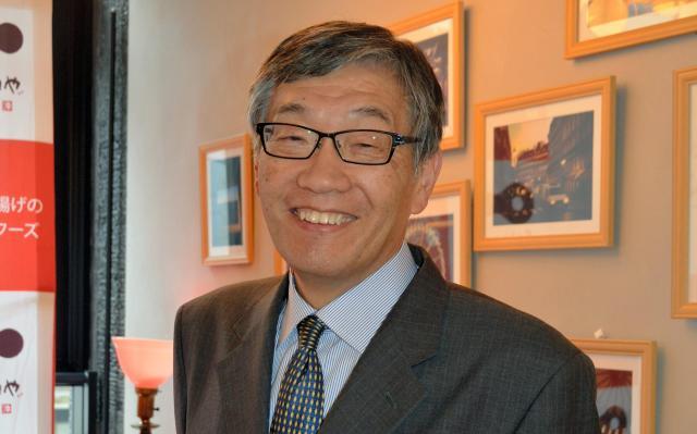日本記念日協会の加瀬清志代表理事=6月16日、大阪市、鈴木智之撮影