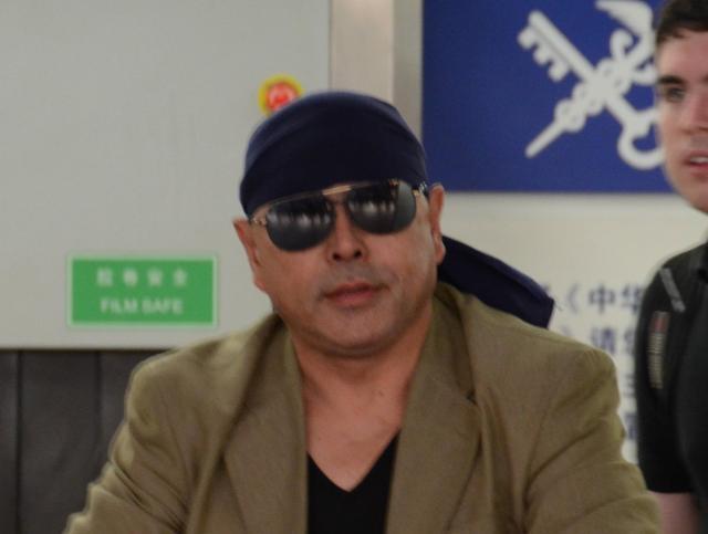北朝鮮の故金正日総書記の料理人だった藤本健二氏=2012年8月撮影