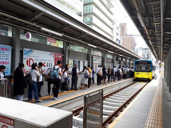 阪堺電車=2018年6月18日