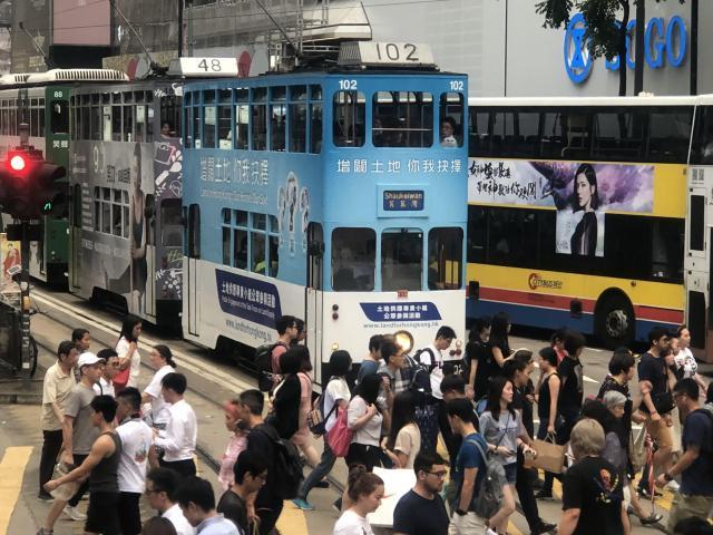 香港の路面電車