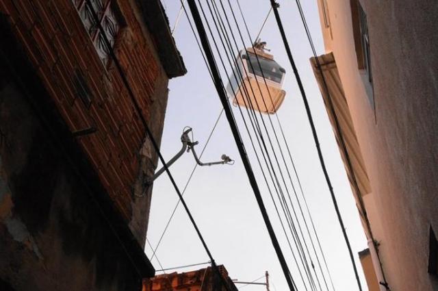 ブラジル・リオデジャネイロのロープウェー