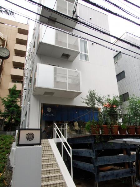 徳島県のアンテナショップ「ターンテーブル」の外観=東京都渋谷区