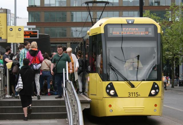 イギリス・マンチェスターの路面電車