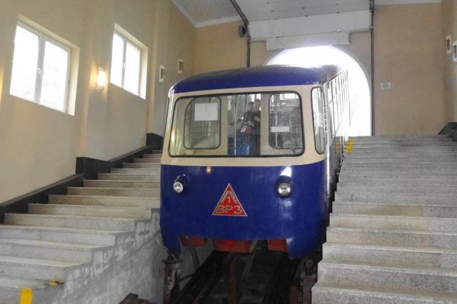 ウラジオストクのケーブルカー