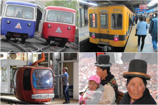 さまざまな交通機関が、市民の足を支えています