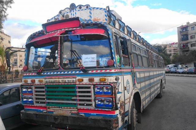 シリアのバス