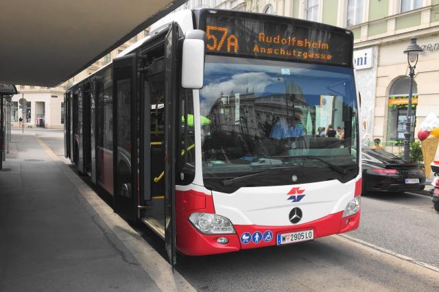 ウィーンのバス