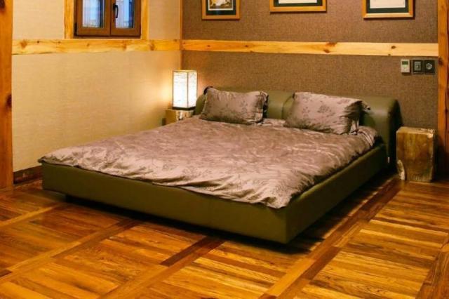2016年7月、金正男氏が知人に売買を持ちかけた「韓国の古民家」の寝室の写真