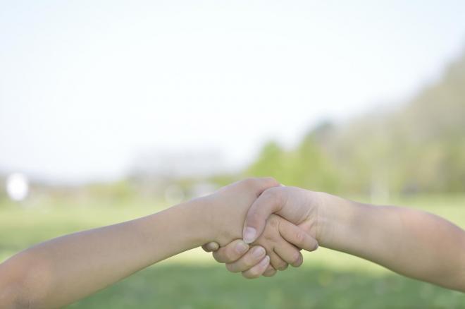 けんかをして仲直りなんていう展開は「絶対ない」と話す田村さん ※画像はイメージです