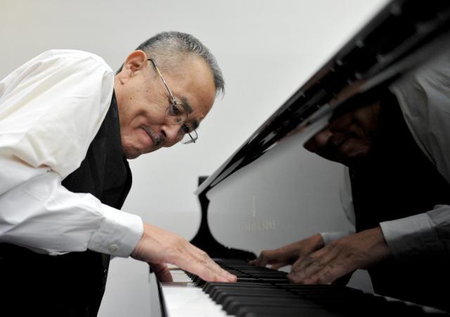ジャズピアニストの山下洋輔さん