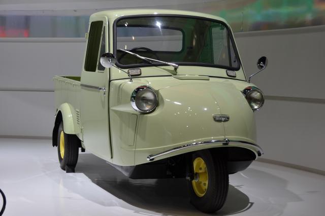 2017年11月の東京モーターショーで展示された「ミゼット」