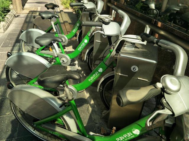 バンコクのシェアサイクル