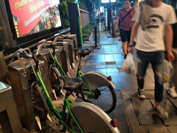 タイのシェアサイクル
