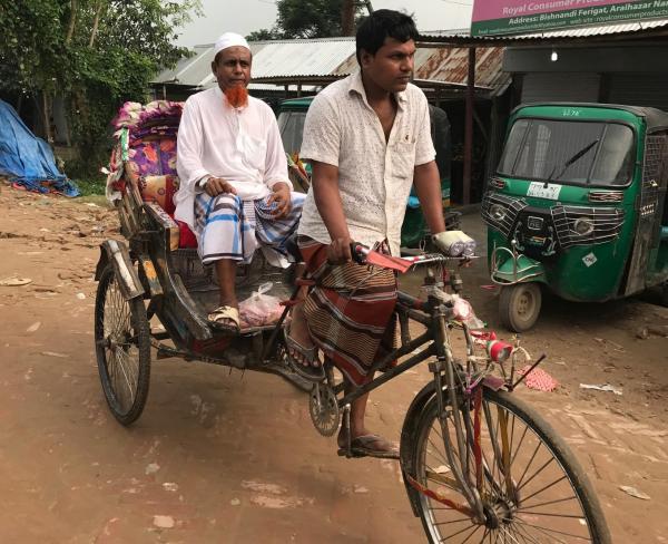 バングラデシュのリキシャ