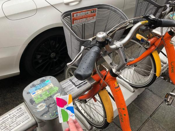 台湾のシェアサイクル