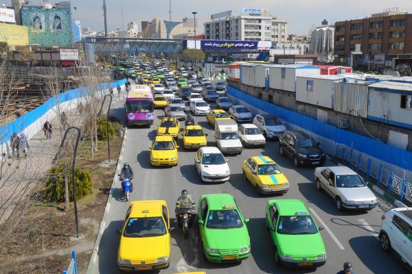 イランのタクシー