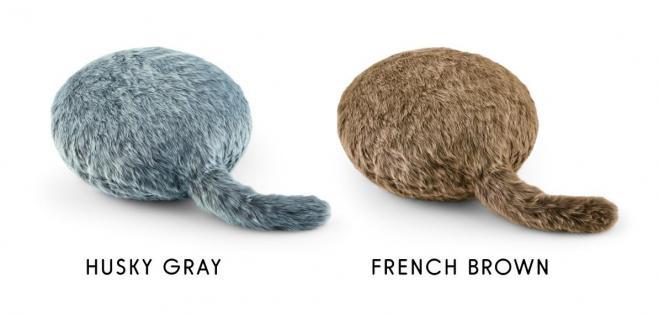 カラーバリエーションは「HUSKY GRAY」「FRENCH BROWN」の2色