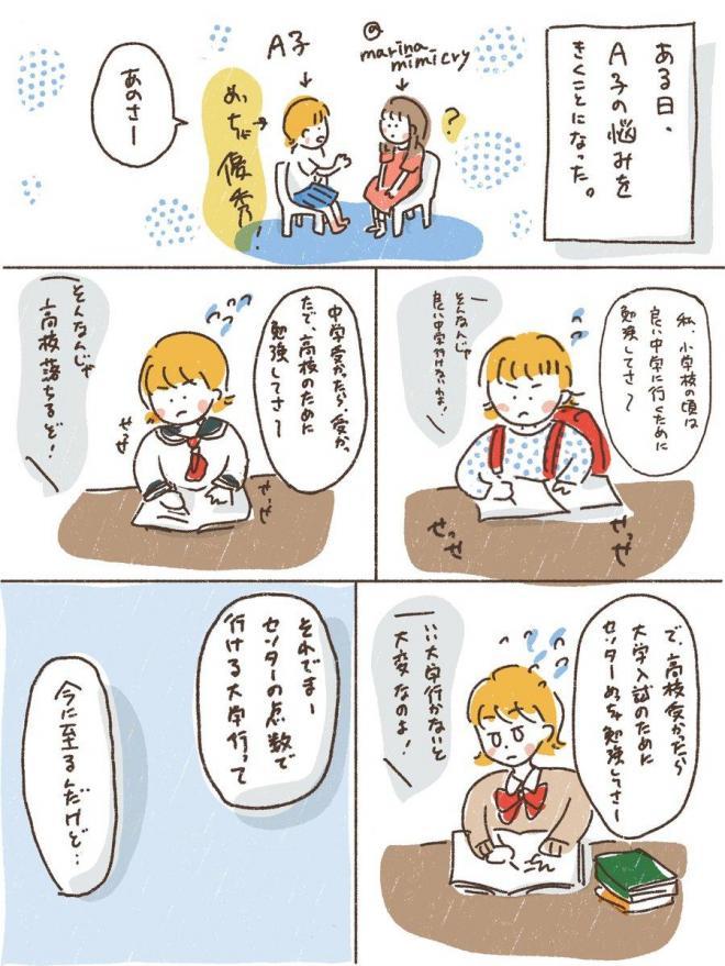 Marinaさんが描いた漫画(1ページ目)