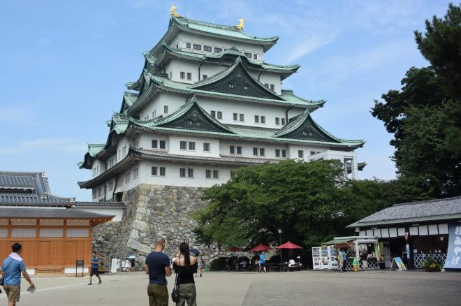 名古屋といえば名古屋城、ではないのでしょうか=諸星晃一撮影