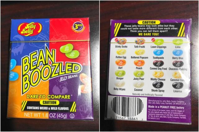 アメリカで売られているグミキャンディー「ビーン・ブーズルド」