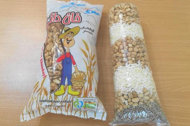 イランの駄菓子「ベレンジャック」