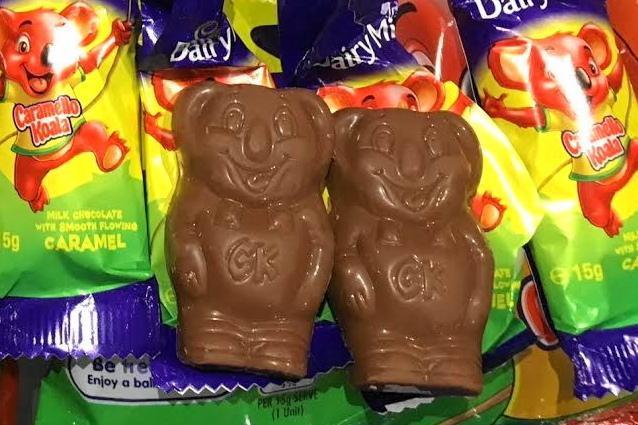 オーストラリアの菓子「キャラメロ・コアラ」