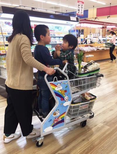 子ども2人を乗せることができます