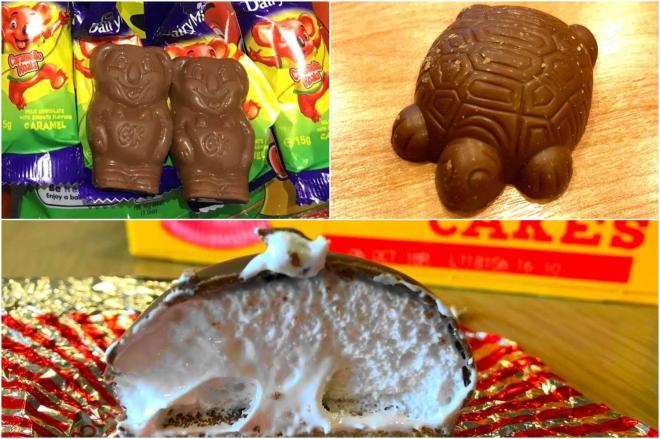 おやつと言えばチョコ菓子。ほかにも色々集めました