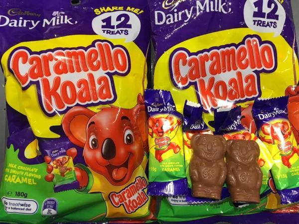 オーストラリアの「キャラメロ・コアラ」
