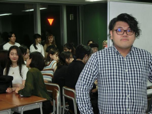 学生専用フリースペース「賢者屋」を起業した佐藤拓さん