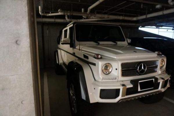 前澤社長の車