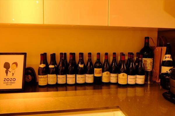 前澤社長が飲んだワイン