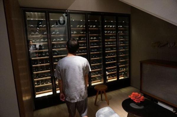 ワインを探す前澤社長
