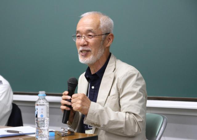 日本スクールソーシャルワーク協会20周年記念講演で語る山下名誉会長