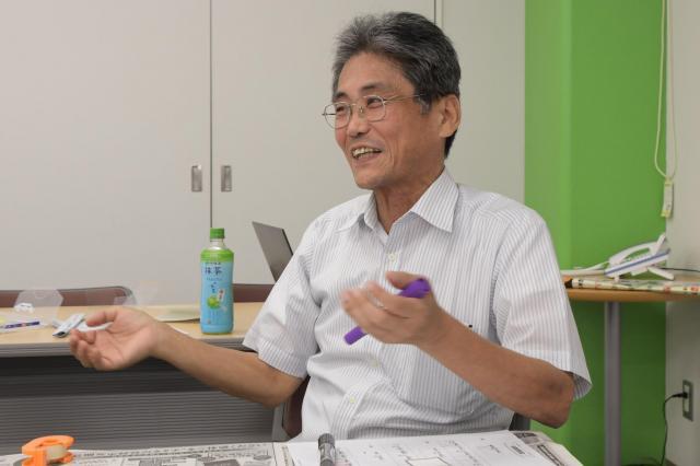 開発者の倉野康彦さん