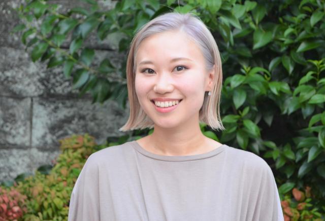 「BONDプロジェクト」スタッフの竹下奈都子さん