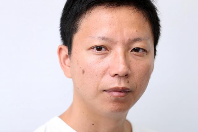 内藤瑛亮さん=池永牧子撮影