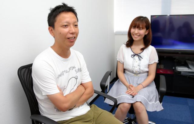 いじめについて語る内藤瑛亮さん(左)と春名風花さん=池永牧子撮影