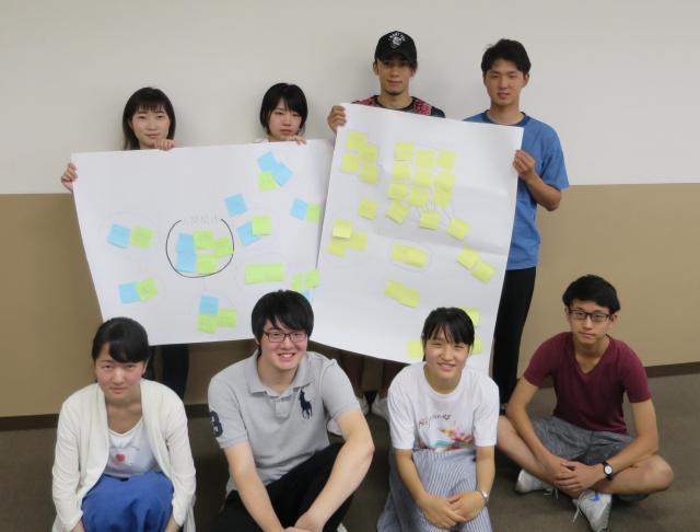 (上段左から)都築さん、瀧谷さん、佐部利さん、藤原さん(下段左から)小澤さん、橋爪さん、鉄谷さん、森田さん
